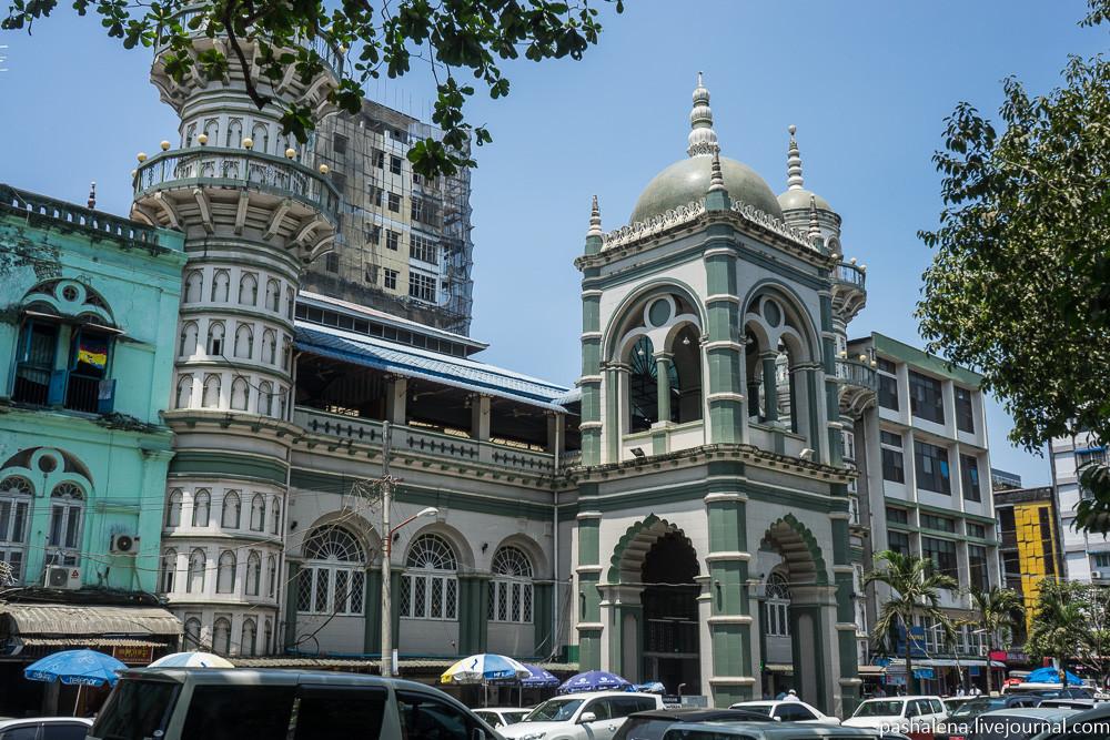 Мечеть в Янгоне
