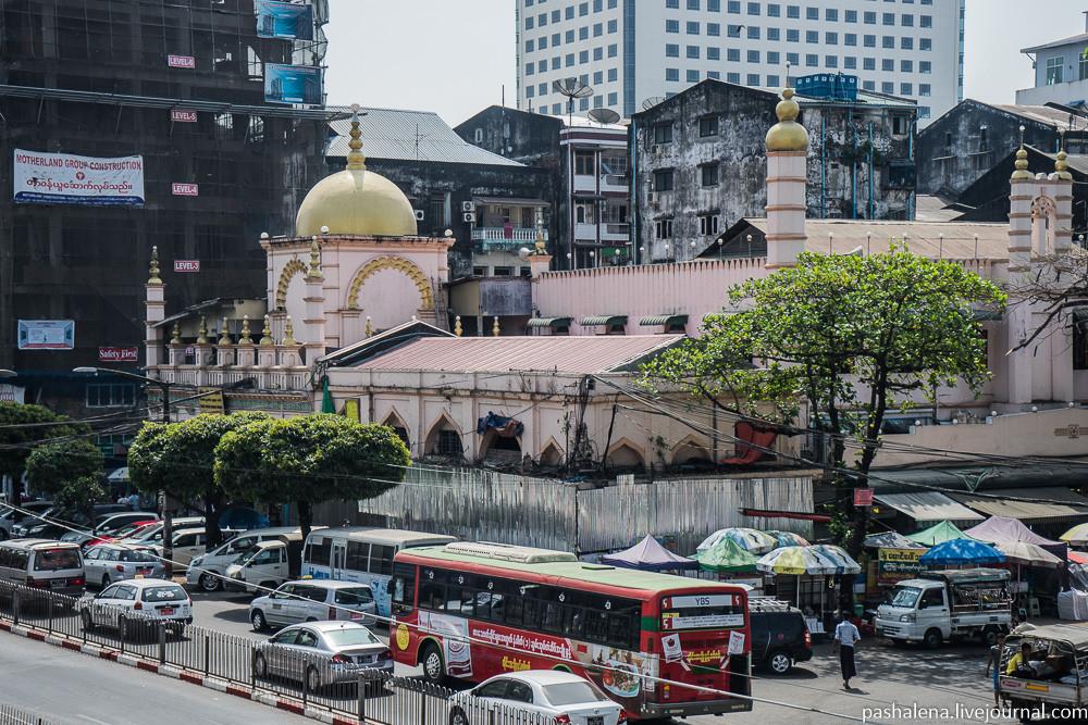 Мечеть в Бирме