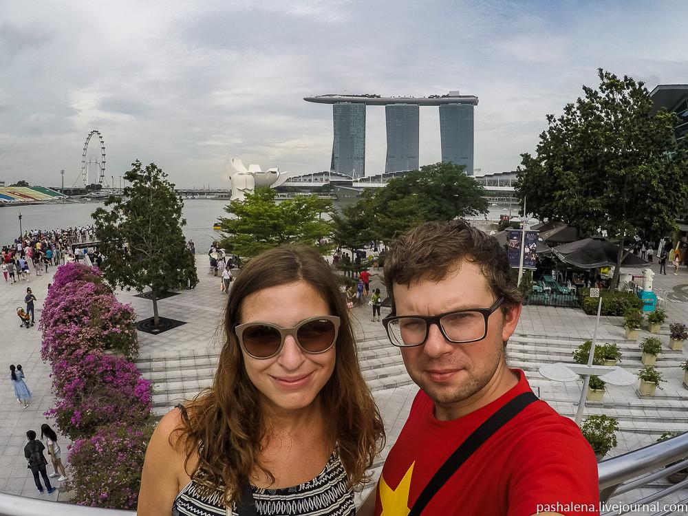 Сингапур — пятая страна азиатского марафона