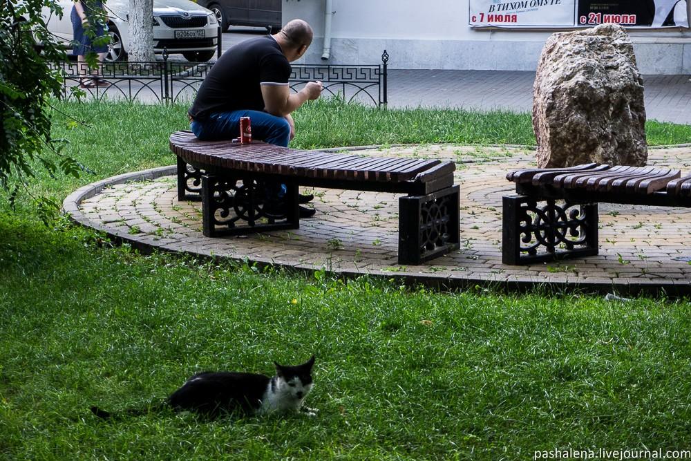 Жители Ростова