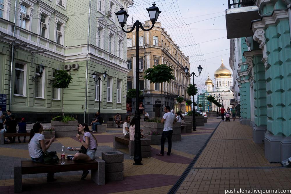 Пешеходная улица Ростов