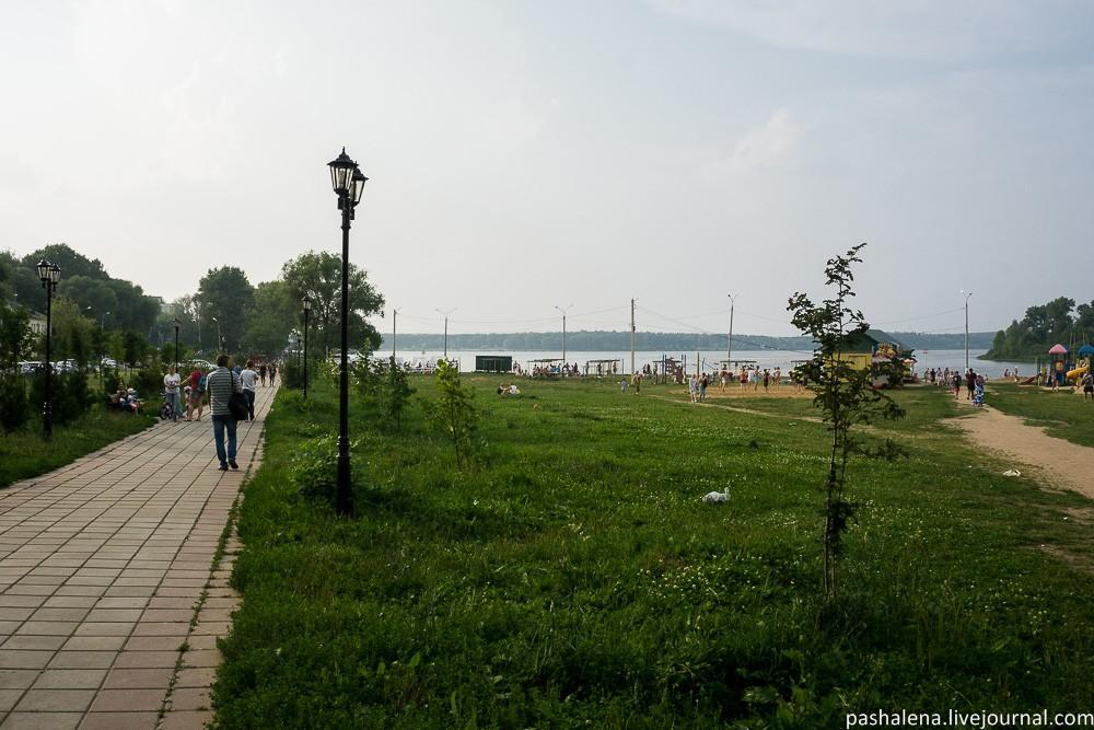 Пляж Сенеж