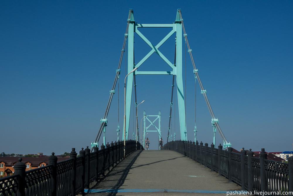 Пешеходный мост Атырау