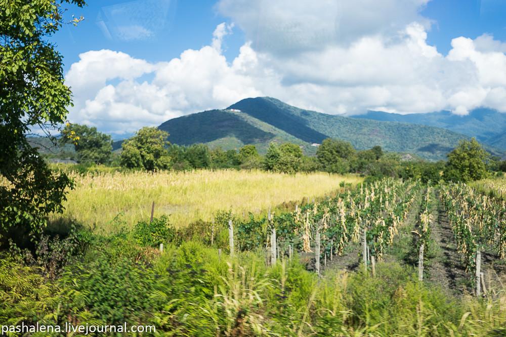 Горы Кахетия