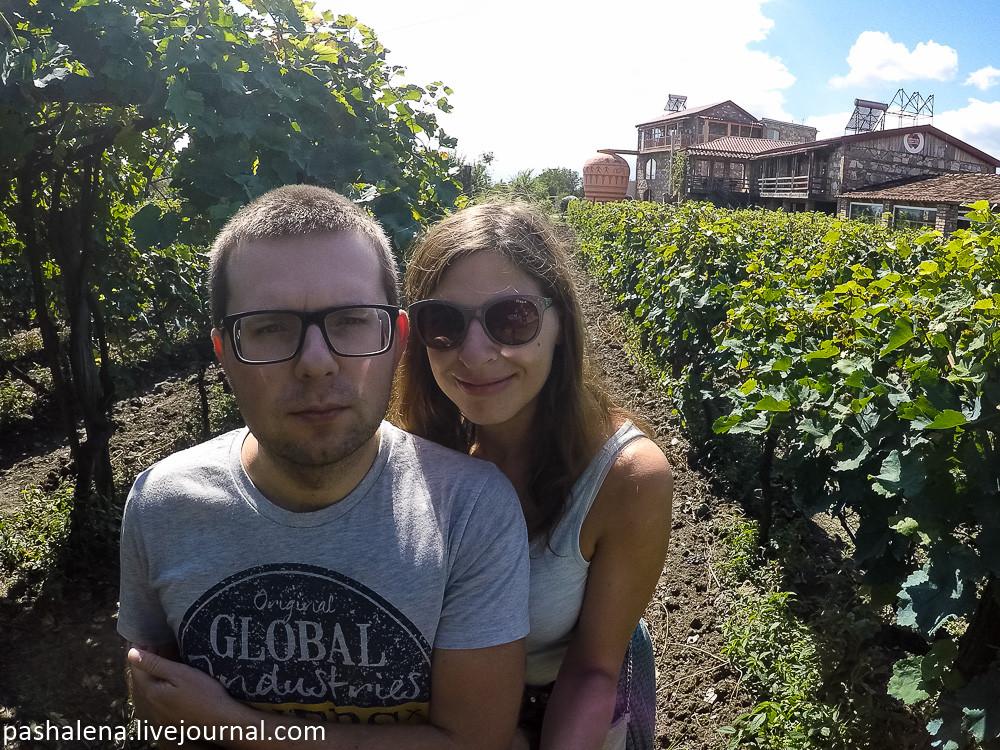 Виноградники Грузия