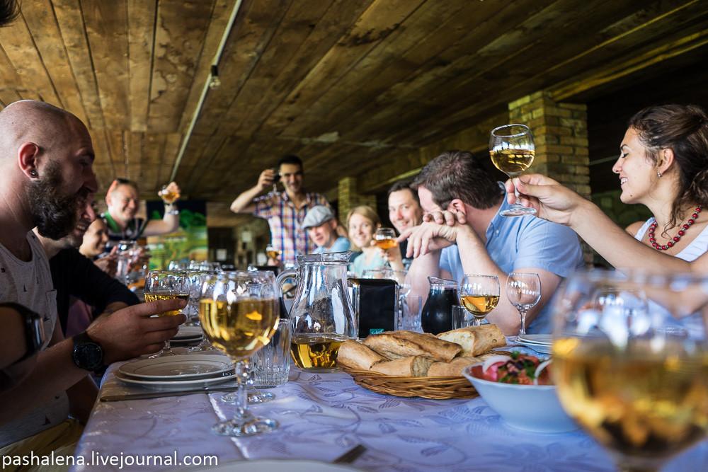 Дегустация вина Кахетия