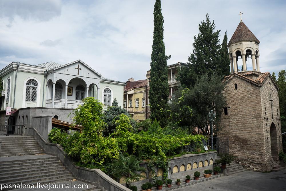 Живописный уголок Тбилиси