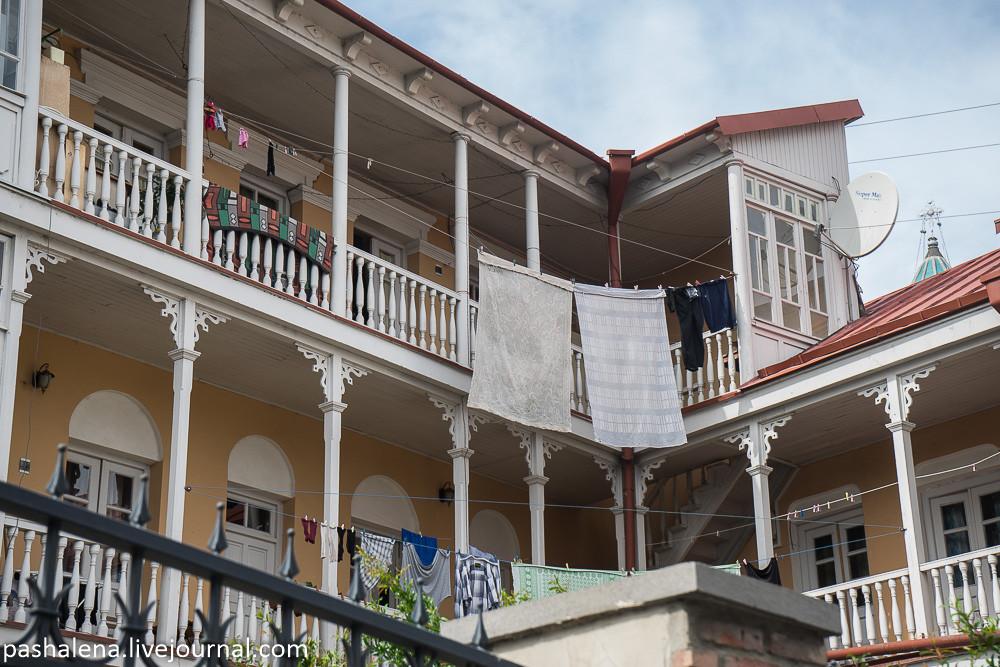 Балкон в старом Тбилиси