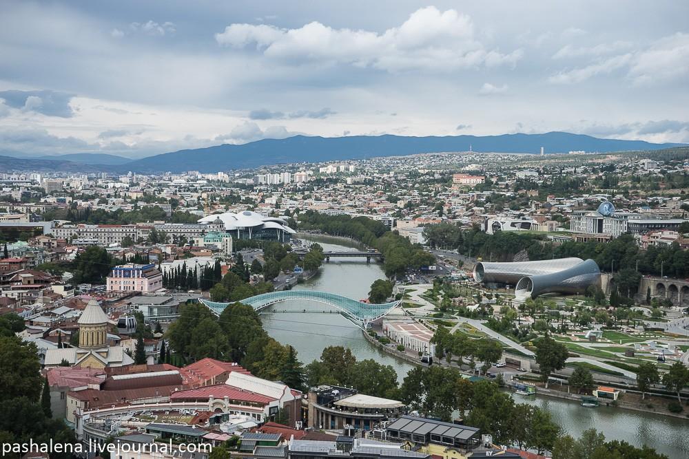 Вид на реку Куру