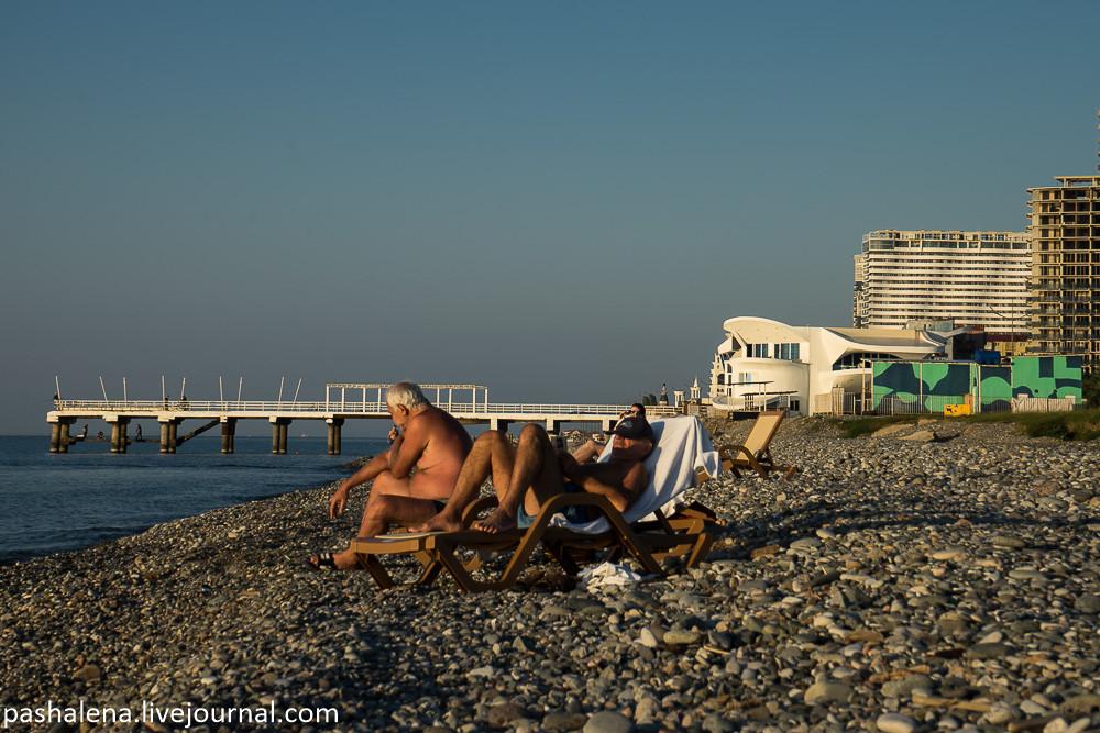 Пляж СССР