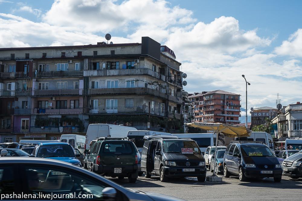 площадь Тбилиси в Батуми