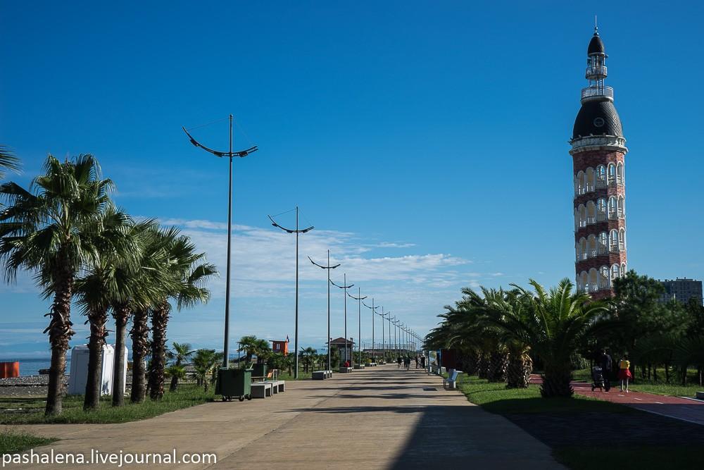 Приморский бульвар Батуми