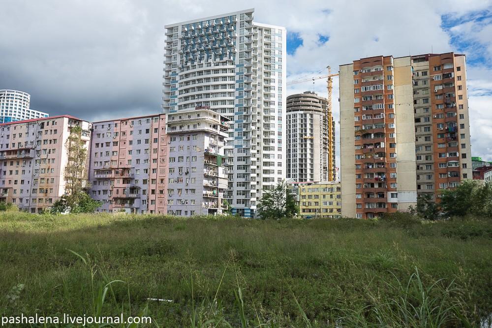 Многоэтажки Батуми