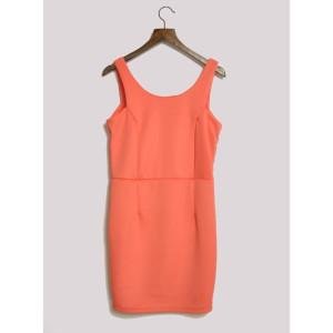 coral_salmon_neon_pink_v_back_bodycon_shift_dress_1386522598_4305e5c6