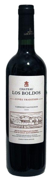 Chateau Los Boldos Cuvee Tradition CS 2010