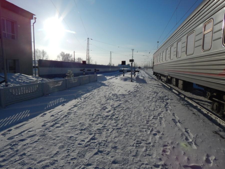 Наш второй поезд шел из Москвы