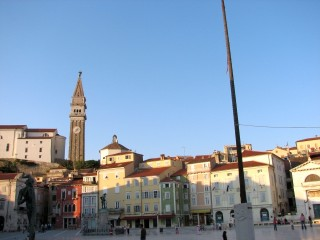 Main Square - called The Tartini Square.
