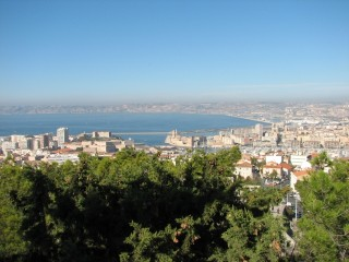 A view over huge Marseille.