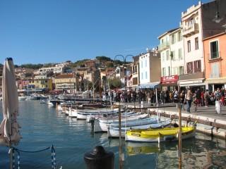 Lovely port in Cassis.