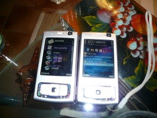 LT (love toy) - left: mine; right: André's :)