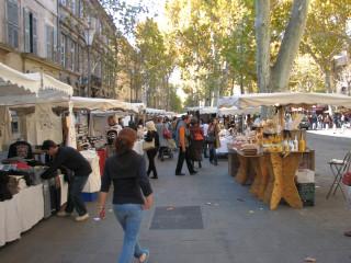 Aix en Provence - market place.