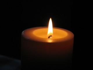 A candle. WOW :)