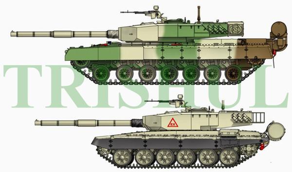 Arjun Mk1 & TANK EX