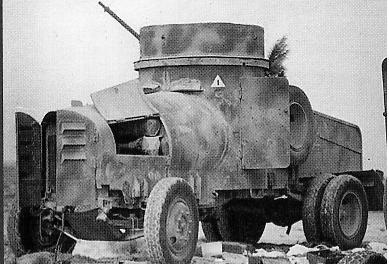 1940 autoblindo Fiat-Terni tipo Tripoli su Fiat-SPA 38R