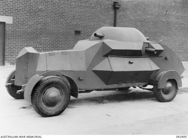 Kirsch Armored Car Австралия 1942