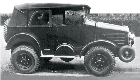 laffly R-15R 4x4 1937