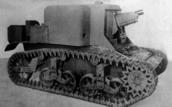 T18 with a 75mm Pack Howitzer on a M3 chassis