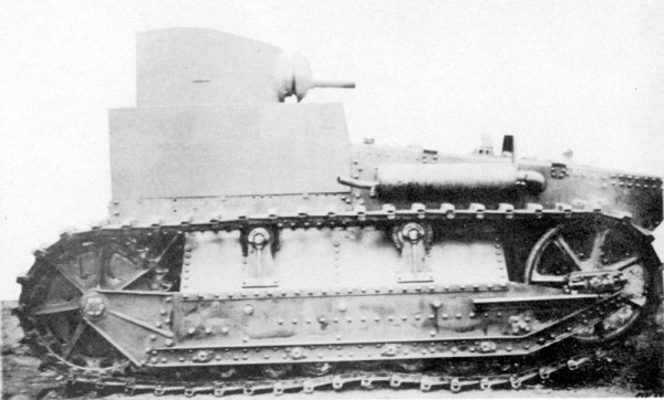 Light Tank T1, 1927
