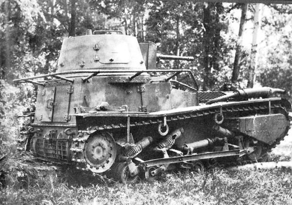 Leichttraktor Круппа