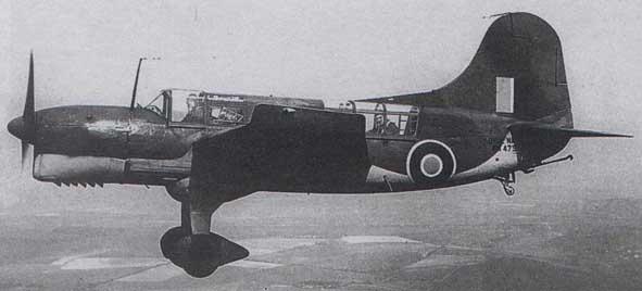 Curtiss Seamew Mk.I, RAF, 1943