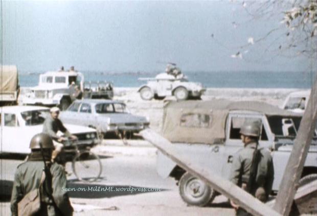 В Ливанской армии, в начале 70-х