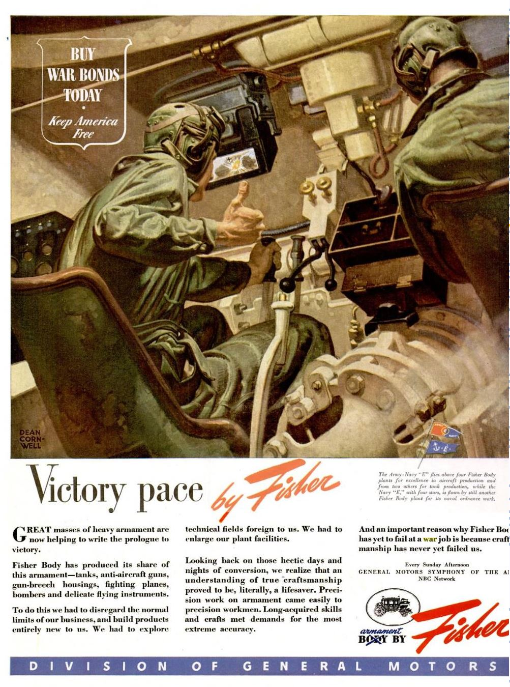 1944 - jun - 12 - LIFE MAG - VICTORY PACE - FISHER - DEAN CORNWELL