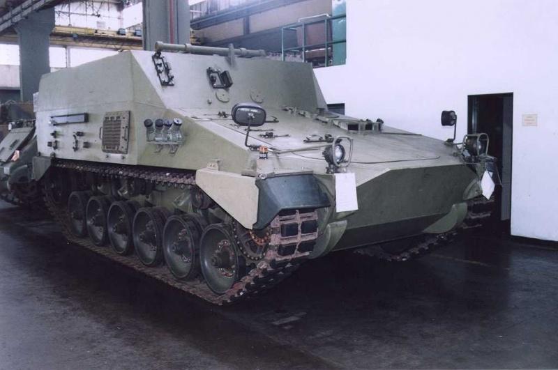 VC-Amun - Vehículo de Combate Amunicionador.