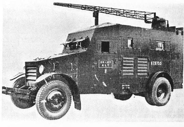 Лаффли-бронированная радиостанция