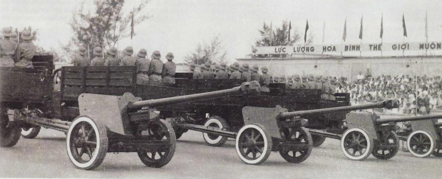 Военный парад 1962 г. в Ханое