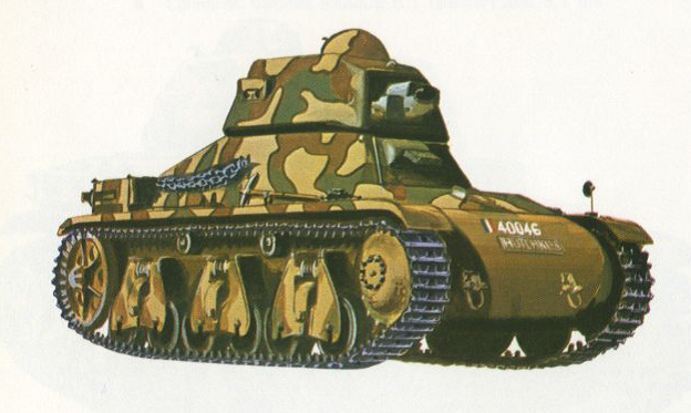 Танк Гочкис Н-35