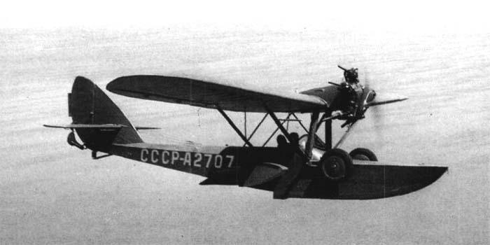 Летающая лодка Ш-2