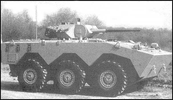 AMX-10RTT с 25 мм