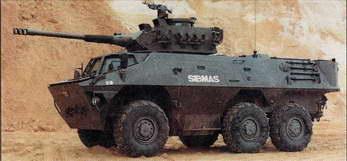 SIBMAS с башней CM 90.