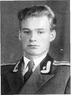 А.А. Благонравов — выпускник Военной Академии БТВ. 1957 г.