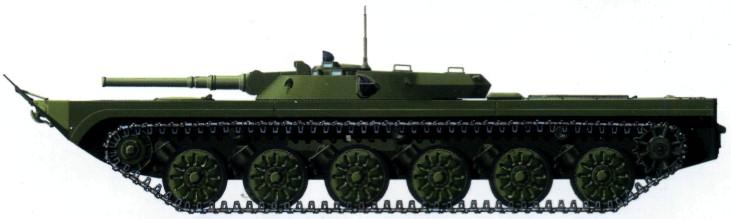 об.911Б (легкий плавающий танк)