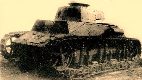 Прототип танка Т-19