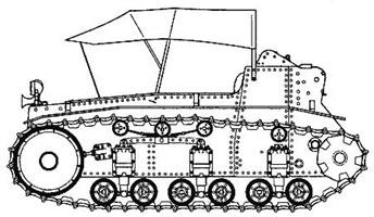 Легкий трактор РККА
