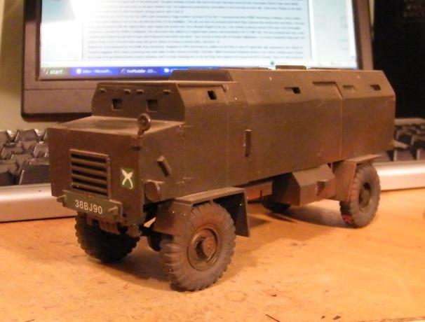 Armoured RL