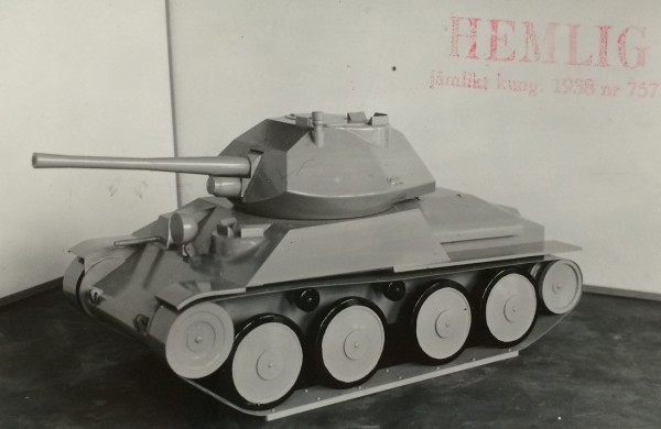 13 ton Strv m/41 -модернизац.