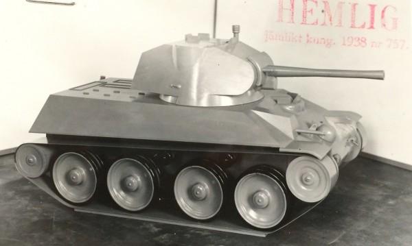 15 ton  Strv m/41 -модернизац.